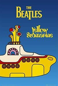 "The Beatles Yellow Submarine Music Laminated Poster - 24.5"" x 36.5"""