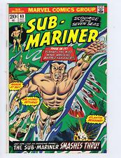 Sub-Mariner #63 Marvel 1973