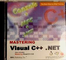 Mastering Visual C++.NET & C++6.0