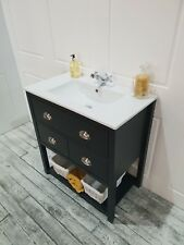 farrow and ball paint colour Vanity Washstand 80cm drawer Bathroom Unit Cabinet