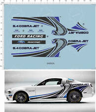 1/24 1/25 REVELL GT500 TG500KR cobra jet ford Racing Car Model Water Decal 64882