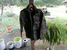 Columbia Mens Gallatin Hunting Large L Jacket Camo Heavy Wool