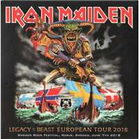 "IRON MAIDEN : ""Legacy of the beast at Sweden rock 2018"" (Great !!) (RARE 2 CD)"