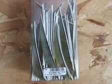 "BOX LOT 4"" LW Leaf Green Feathers Archery fletching Parabolic cut 700 pcs"