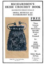 Richardson's Irish Crochet Book #2 c.1915 - Lovely Vintage Style Purse Patterns