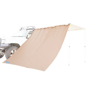 Adventure Kings Waterproof 2.5m Camping Awning Side Wall Side Shade Compatible