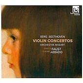 Faust Abbado - Berg Beethoven Violin Concertos RARE 2012 Near Mint CD Digipak