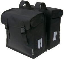 Bicycle Double Pannier Bag Water Resistant Basil Mara XXL Black 47L
