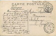 1915 / ALBERT LES USINES DETRUITES / OBL / TRESOR ET POSTES 60 / ROCHEFORT NENON