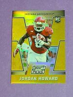 Jordan Howard Rookie Hoosiers Miami Dolphins 2016 Panini Prizm Gold Prizm 10/10