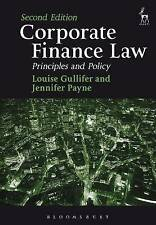Corporate Finance Law: Principles and Policy by Jennifer Payne, Prof. Louise...