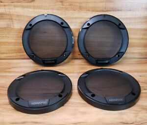 4 Kenwood 6.5 in Round Speaker Grill Covers for KFC-1666S & KFC-1656S