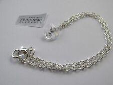 Anklet Ankle Bracelet Chain - Handmade Swarovski Elements Crystal Heart - Chain