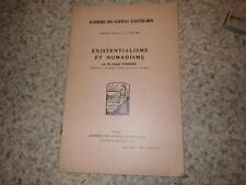 1966.Existentialisme et nomadisme.Eugène Guernier