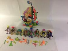 Vintage TOXIC CRUSADERS Action Figure Lot  Plus Battle Ship FREE SHIPPING