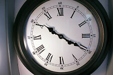 Huge Large Classic Victorian Vintage station Wall Clock 60 cm  12m G'tee
