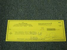 Ava Gardner Autographed Hand Signed Cancelled Check