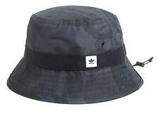 Adidas Street Camo Bucket Caps Running Hat Black OSFM Unisex GYM Hats Cap ED8045