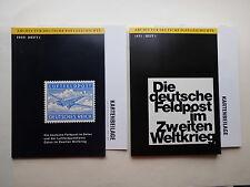 Die deutsche Feldpost im 2. Weltkrieg, 2 Bde v. Schmitt/ Gericke 1969/71  #LK065