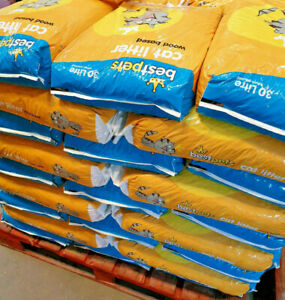 WOODBASED CAT LITTER - 500g 1kg 3kg 5kg 10kg 30L Wood Based Pellets pb Animal pk