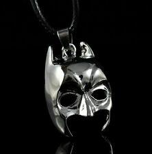 DC Batman Mask Steel Chain Pendant Necklace Child Boy Man Lady Xmas LZ12
