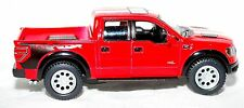 2013 Ford F150 Raptor SVT Pickup Truck Die cast Action Toy Red Sport Supercrew