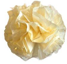 "25 Car Limo wedding Decoration Plastic Pom Poms Flower 4""  - ivory"