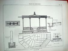ART DECO ARCHITECTURE Traité Serrurerie & Construction Fer 1925 + de 100 PLANCHE