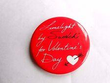 Vintage Limelight von Swatch für Valentinstag Armbanduhr Werbung Pinback