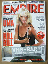 EMPIRE FILM MAGAZINE No 178 APRIL 2004 UMA THURMAN - KILL BILL