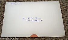 1950's John Cheever Signed X Mas Card
