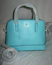 New Kate Spade Grand Street Small Rachelle handbag purse Atoll Blue nwt