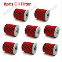 8x Oil Filter For CAN-AM MAVERICK 1000R SKI DOO SKANDIC LEGEND EXPEDITION V-800