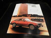 1980 AMC Sales Brochure Literature