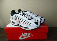 Nike Air Max Tailwind 4 White Black Red Shoes Men's Sizes 8-13, NEW AQ2567-104