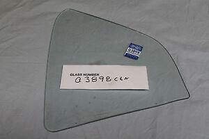 1968 GALAXIE 500, LTD FORMAL ROOF RIGHT QTR GLASS CLEAR