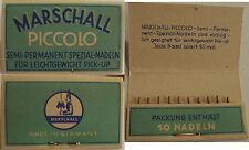 ♪♫♬♩ Marschall Spezial-Dauer-Nadeln Pick up Grammophon (40b) ♪♫♬♩