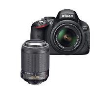 NIKON D5100 16.2MP DSLR CAMERA W/ AF-S DX Nikkor 18-55mm f/3.5-5.6G VR ZOOM LENS