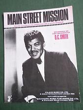 O.C. Smith-MAIN STREET missione-SPARTITI