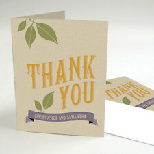 100 Vineyard Wine Theme Personalized Wedding Thank You Notes