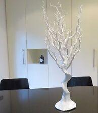 Mariage écran Blanc Synthétique Manzanita Arbre une utilisation intérieure Hauteur 70 To 75 cm
