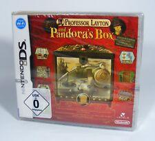PROFESSOR LAYTON PANDORAS BOX auf ENGLISCH für Nintendo DS EU-Version Spiel NEU