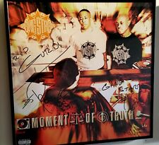 Gangstarr Autograph Vinly