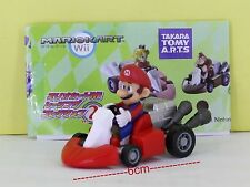 Super Mario Bros Figure 6cm Pull Back Car MARIO 1