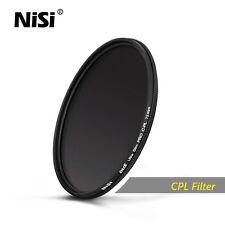 Nisi Ultra-thin Professional CPL Round PL Filter Polarizer