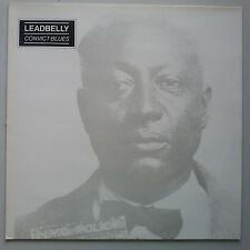Leadbelly - Convict Blues - Folk Songs and the Blues Vinyl LP UK Press NM/NM