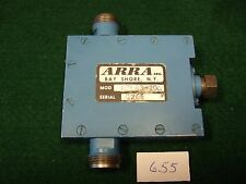Arra N3843-20A Variable Attenuator 2-4 Ghz 20dB range N Connectors - Used.
