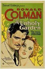 The Unholy Garden - 1931 - Ronald Colman Fay Wray Pre-Code Drama Film DVD