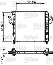 VALEO Engine Cooling Radiator Fits JEEP Cherokee Liberty Suv 2003-2008