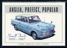 FORD ANGLIA Original Collectors Card Set - 100E POPULAR PREFECT 105E Illustrated